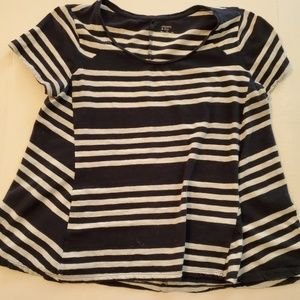 Crown and Ivy Striped T Shirt